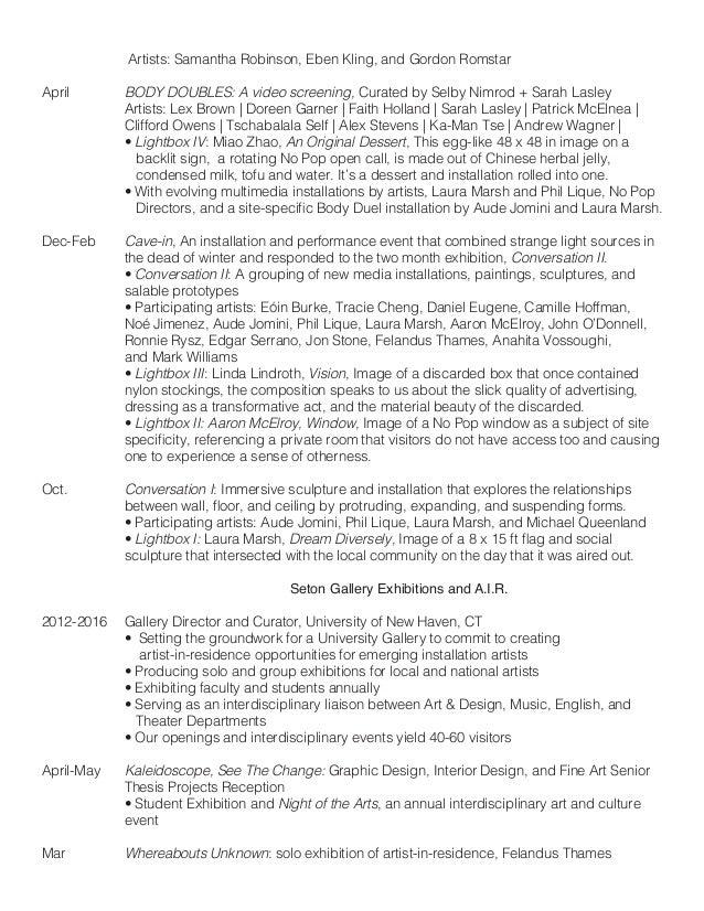 laura marsh resume