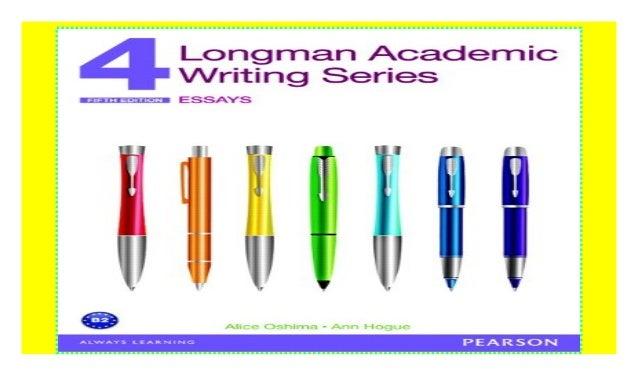 longman academic writing series 4 essays (5th edition) answer key