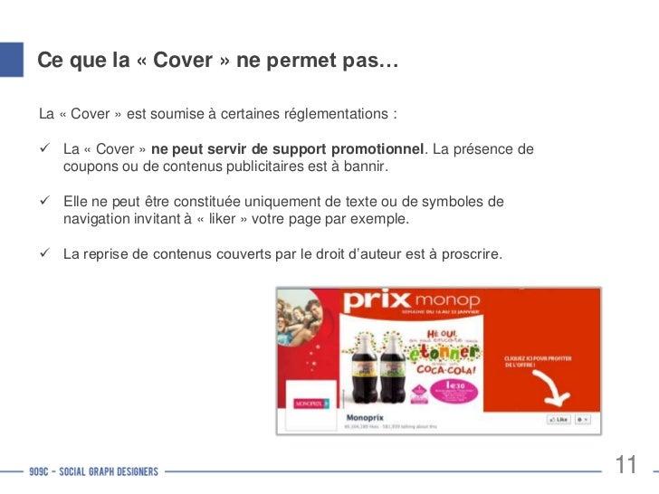 Photo de profil des PagesElle se veut le reflet de l'identité de votre Marque surFacebook. Le logo de l'entreprise est don...