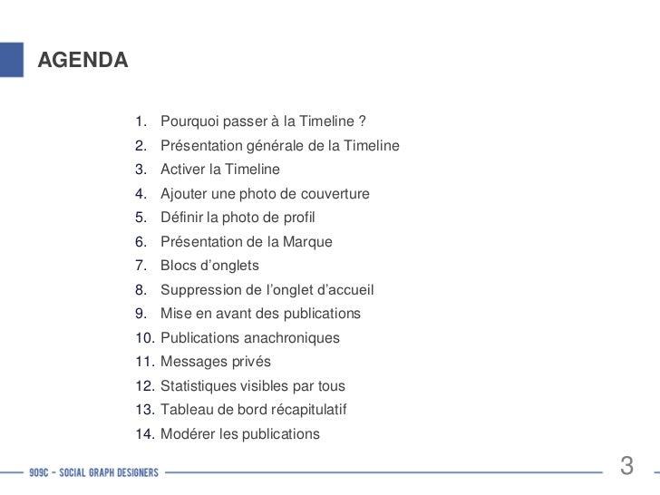 Pourquoi activer le mode « Timeline » ?Les nouvelles fonctionnalités des Pages Facebook permettent : d'exprimer l'identit...