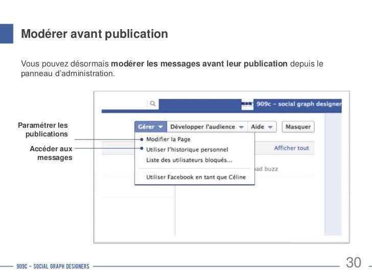 Paramétrer les permissions de publication  Depuis le panneau d'administration, cliquez sur   pour paramétrer les  permissi...