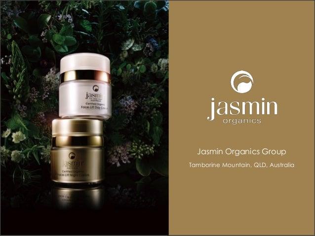 PPT -Jasmin Organics Company Presentation 2015 March