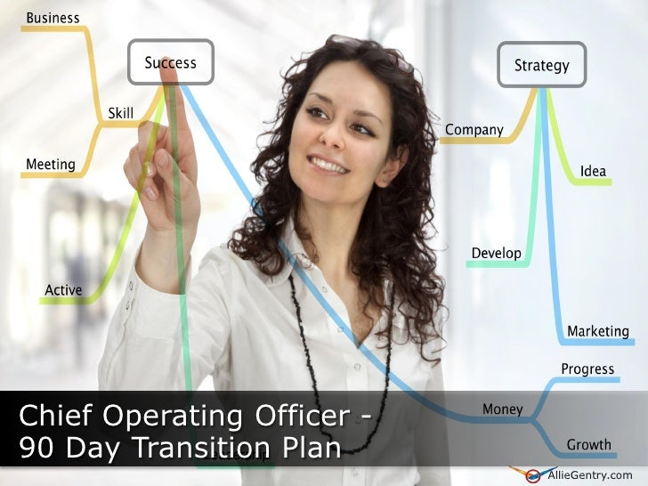Chief Operating Officer - 90 Day Transition Plan      AllieGentry.com                             AllieGentry.com