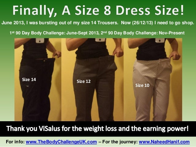 June 2013, I was bursting out of my size 14 Trousers. Now (26/12/13) I need to go shop. 1st 90 Day Body Challenge: June-Se...