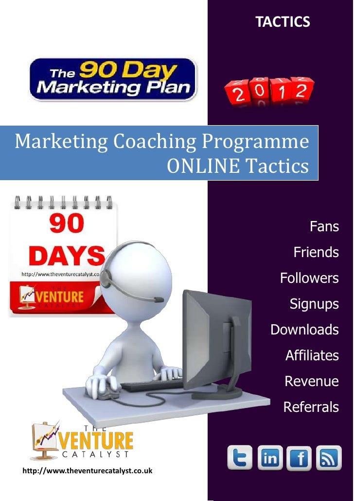 TACTICSMarketing Coaching Programme               ONLINE Tactics                                             Fans         ...