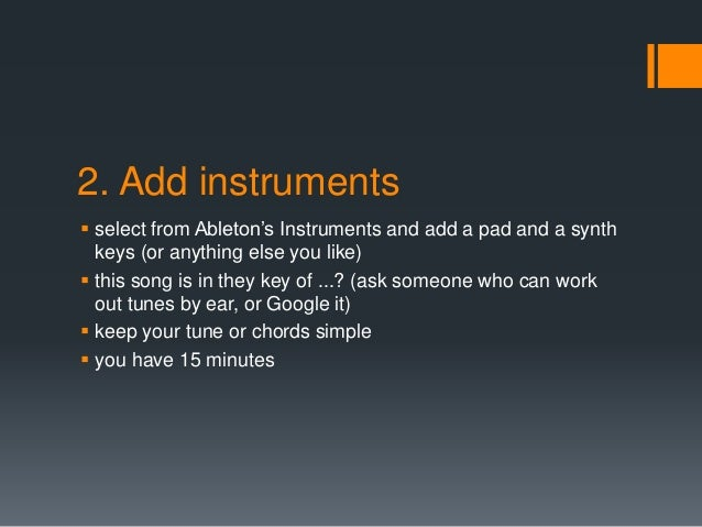 90 Minutes To Remix A Project For Ableton Live Users
