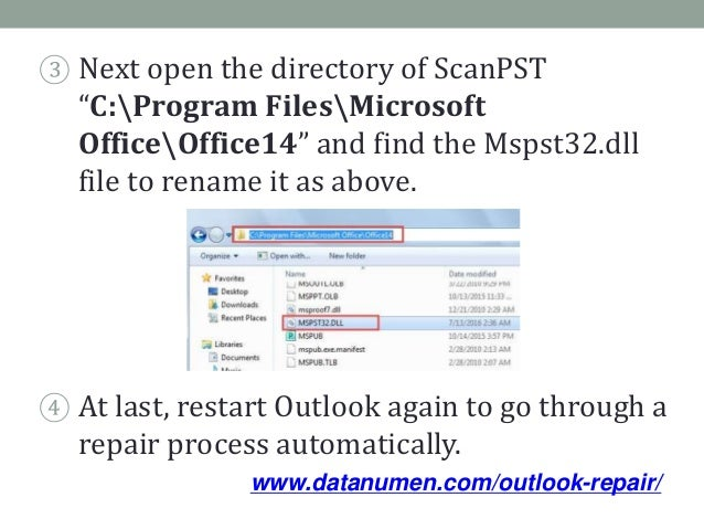 4 Tips to Outlook Crashes in Safe Mode Related to Mspst32