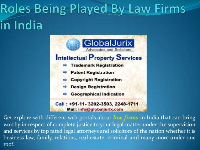 Get explore with different web portals about law firms in India that can bring worthy in respect of complete justice to yo...