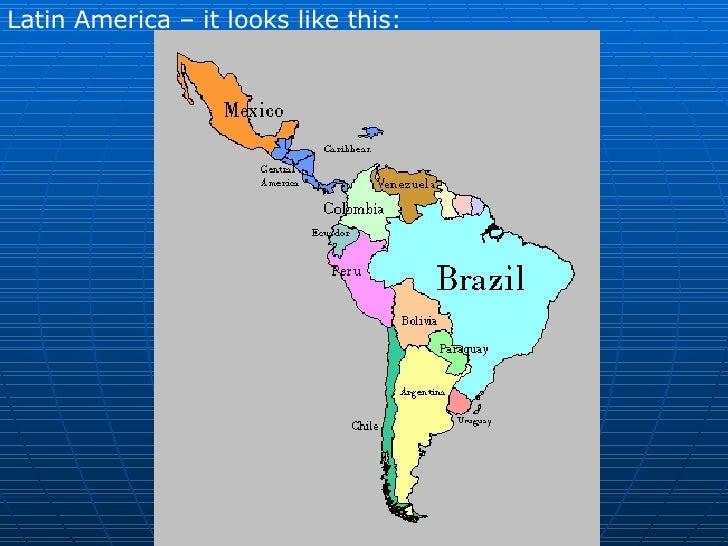 Landforms And Resources Of Latin America - Argentina landforms map