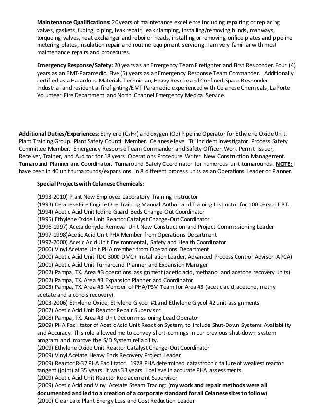 resume for harold m culpepper ops  superintendent 2016