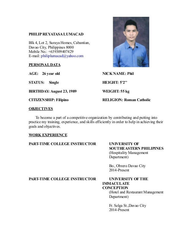 my resume 4