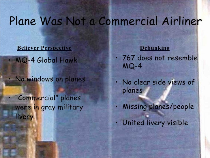 9 11 conspiracy theory essay 1 One popular conspiracy theory website claims that the holes in the pentagon walls were  some 9/11 conspiracy theorists believed this to be evidence that the us was.
