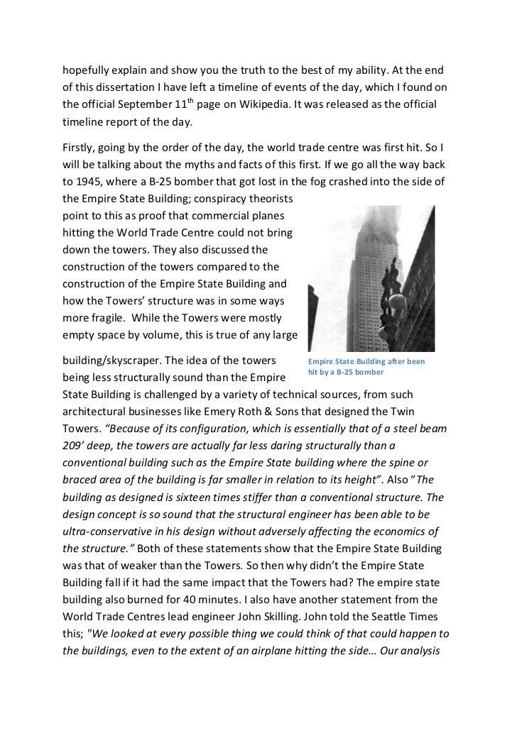 9/11 Conspiracy Essay