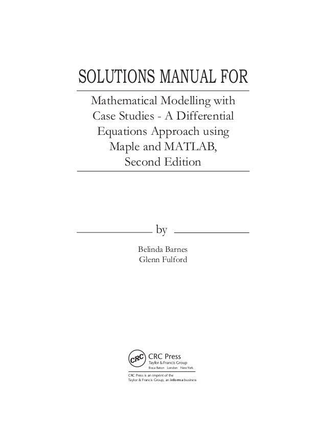 solution manual modeling dynamics of life online user manual u2022 rh pandadigital co Pcoket Guide Manual Guide Epson 420