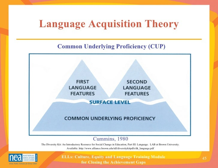 motherese theory of language acquisition pdf