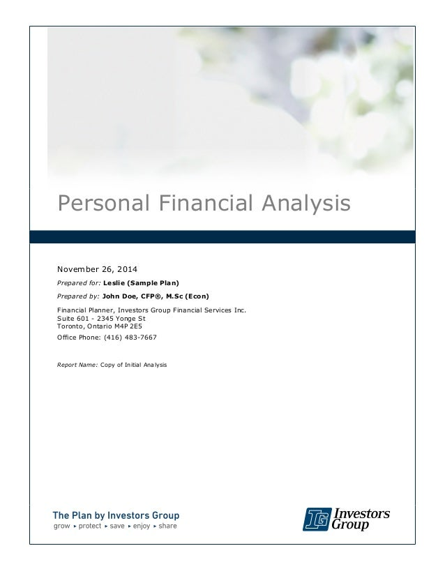 Sample Financial Analysis. Financial Advisor Resume Template