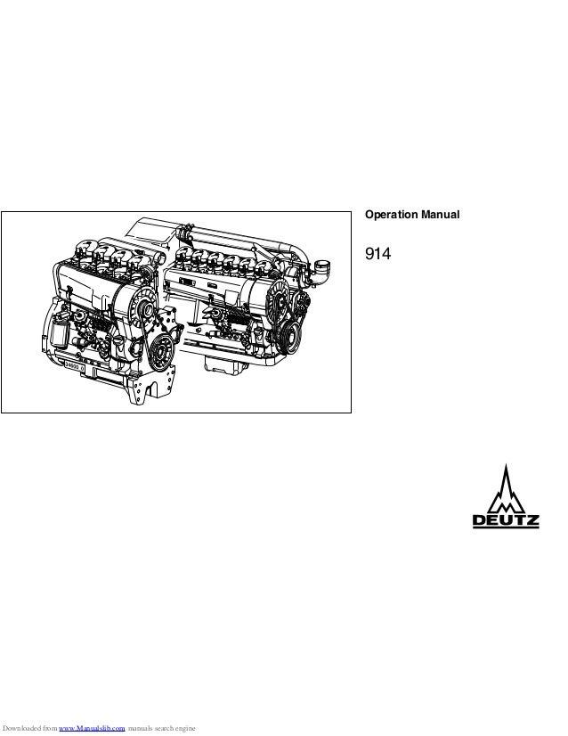 MOTOR DEUTZ 914