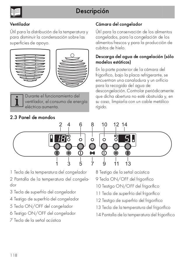 Descripción 118 Ventilador Útil para la distribución de la temperatura y para disminuir la condensación sobre las superfic...
