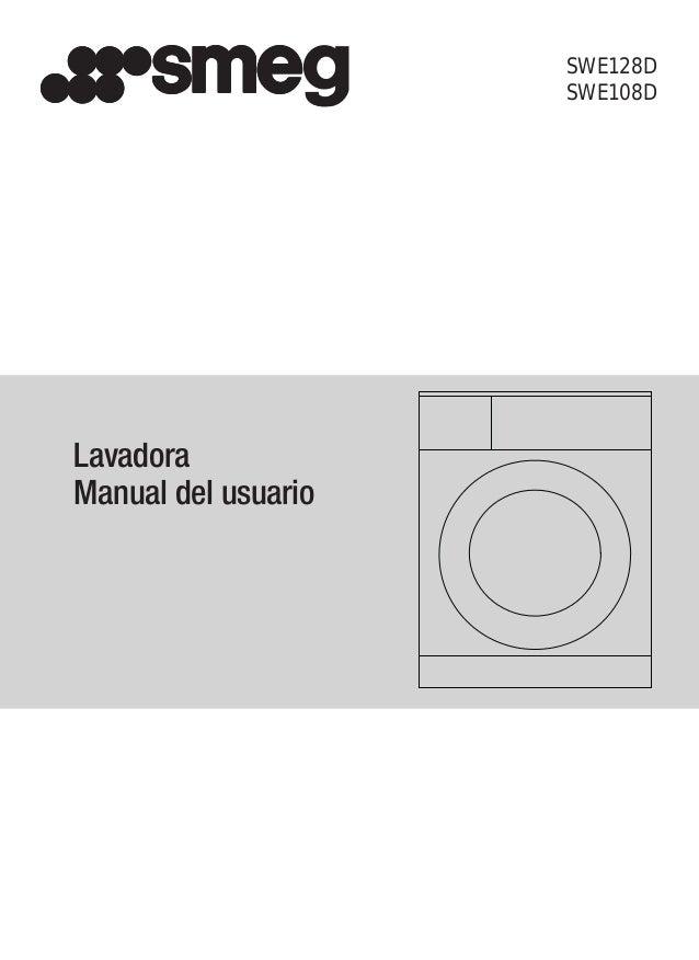 SWE128D SWE108D Lavadora Manual del usuario