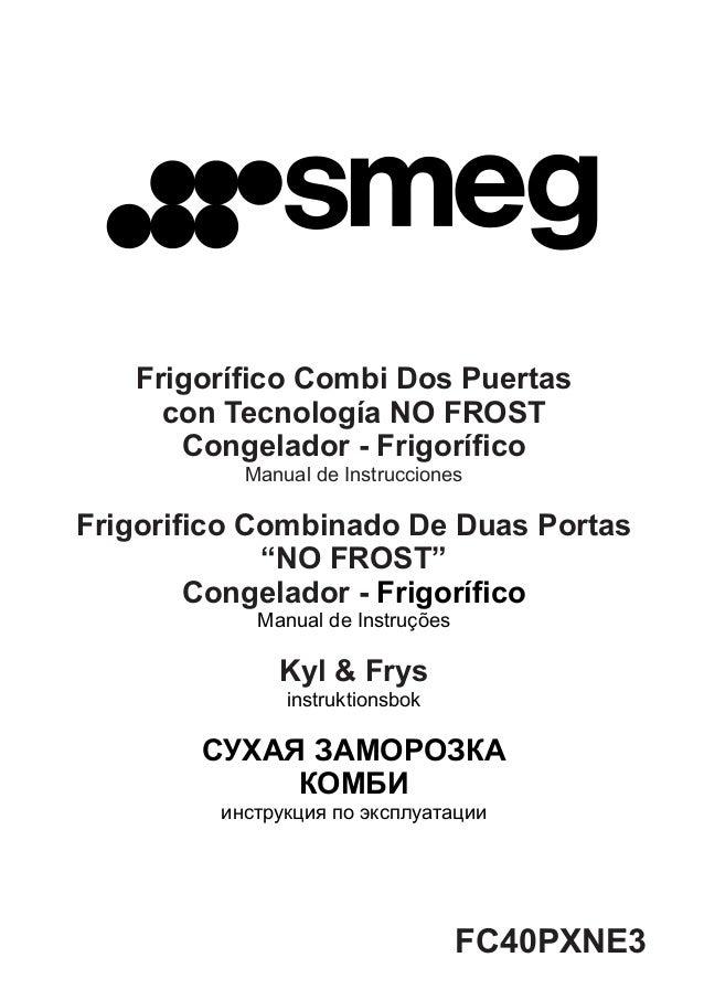 Nevera Smeg FC40PXNE3