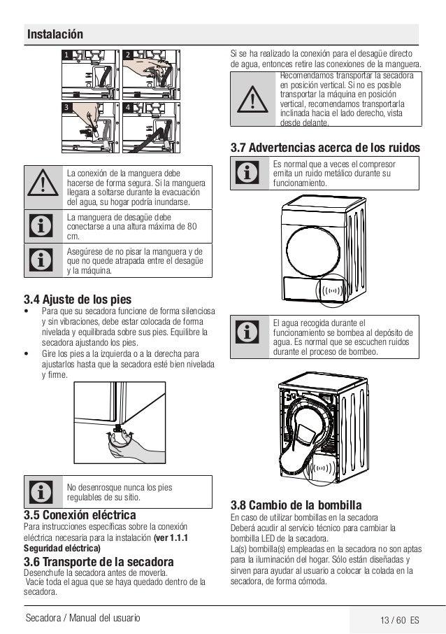 Secadoras Smeg DHT83LES