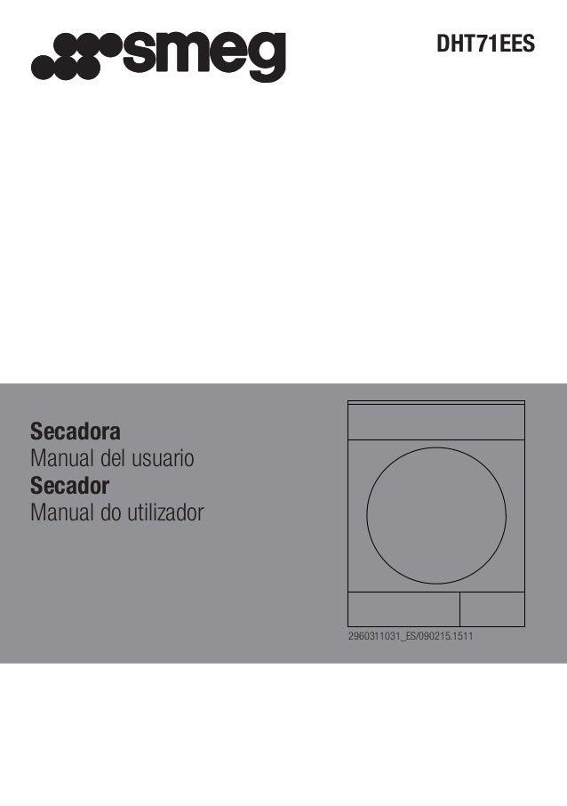 DHT71EES Secadora Manual del usuario Secador Manual do utilizador 2960311031_ES/090215.1511