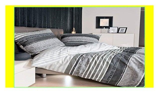 Janine Mako Satin Bettwäsche 155 X 200 Cm Satin Bettbezug Grau Paler