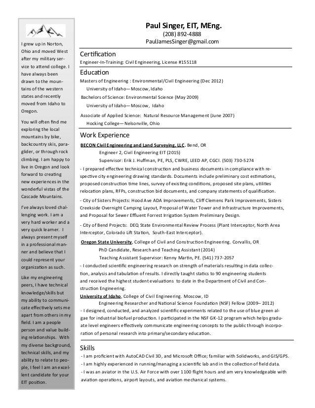 aircraft certification engineer resume