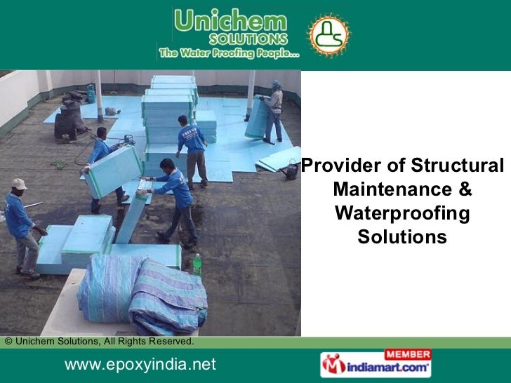 Provider of Structural Maintenance & Waterproofing Solutions
