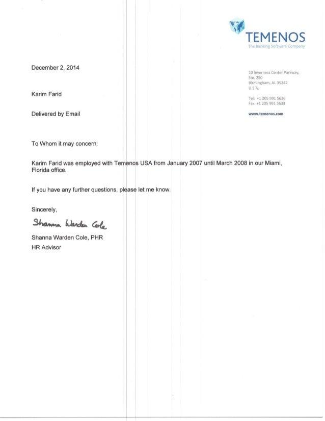 Farid letter