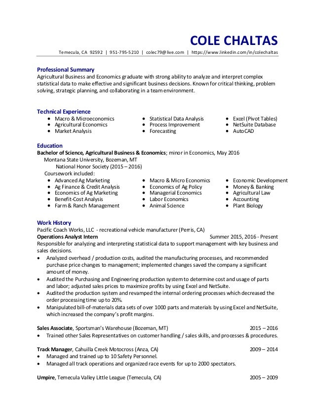 Awesome Farm And Ranch Management Resume Ideas - Best Resume ...