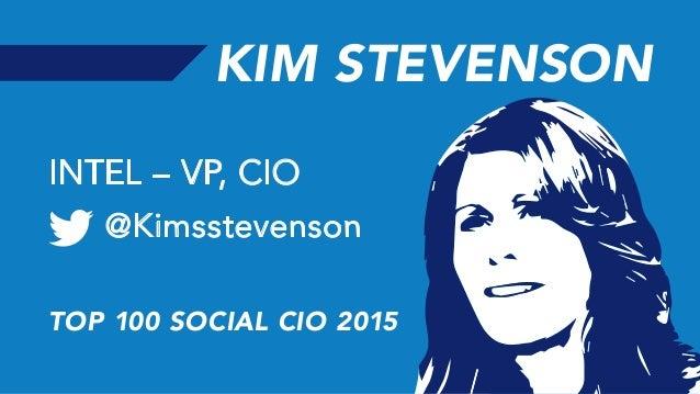 100 Most Social CIOs on Twitter 2015 Slide 3
