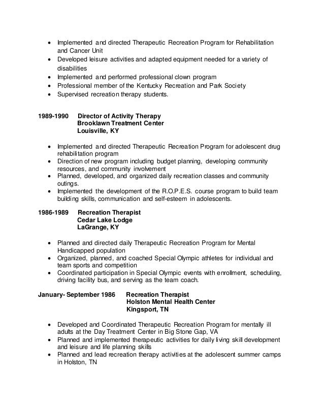 extra curricular activities in resume examples