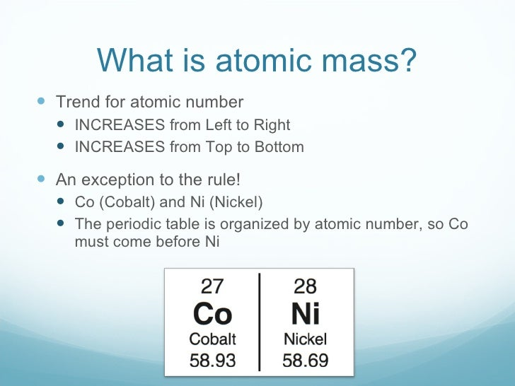 What is atomic mass 11 what is atomic mass urtaz