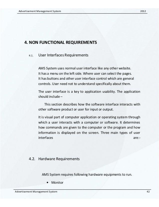 91743410 Advertisement Management System Srs