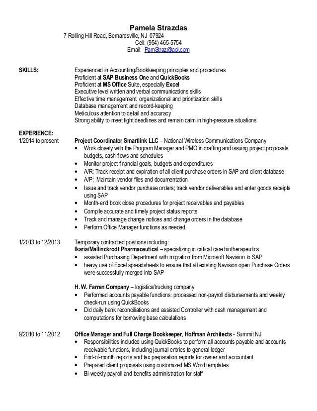 Pamela Strazdas Resume 2016