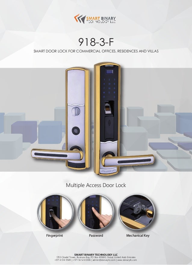Door Lock Suitable for Commercial Office, Residences and Villas