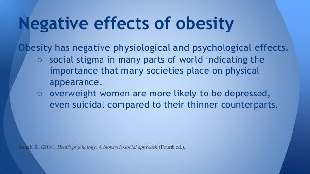When Being Overweight Is a Health Problem