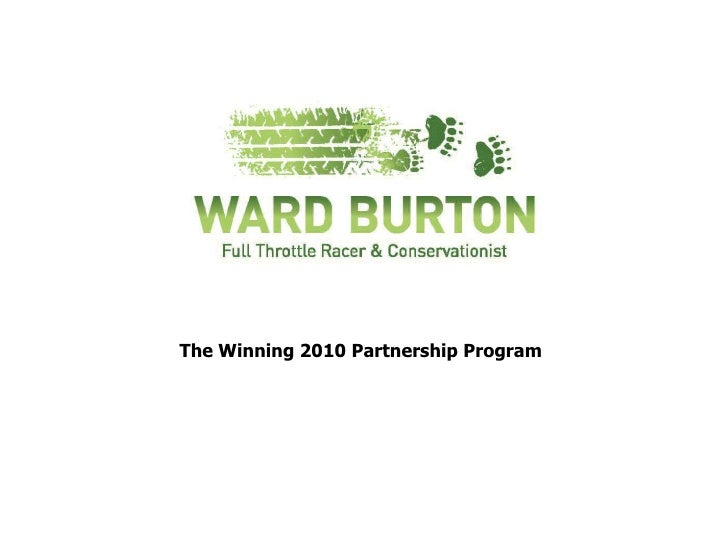 The Winning 2010 Partnership Program<br />
