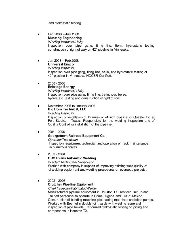 James Stafford\'s resume