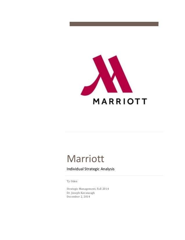 Company Audit- Marriott 2