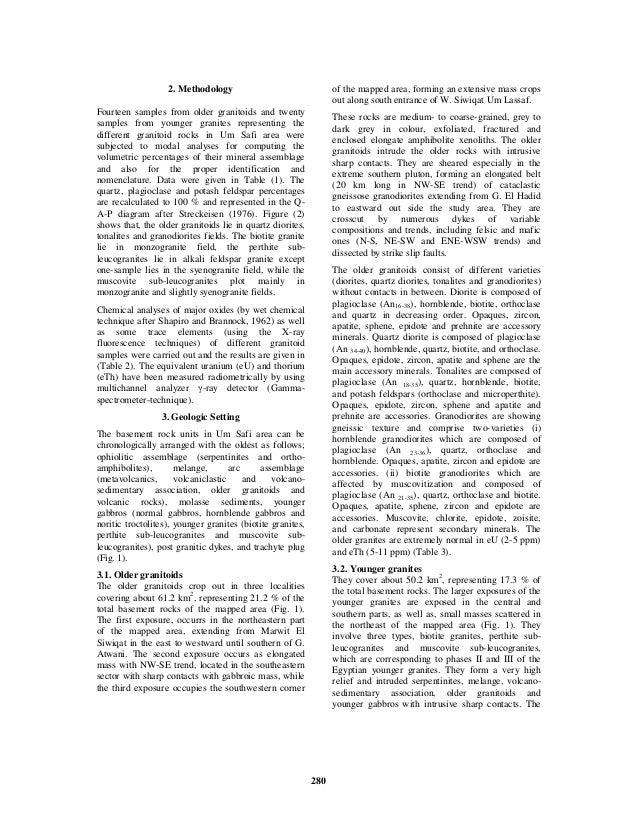 Petrogenesis Of Granitoid Rocks And Origin Of Uranium