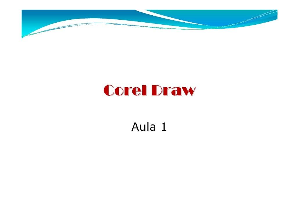 Corel Draw   Aula 1