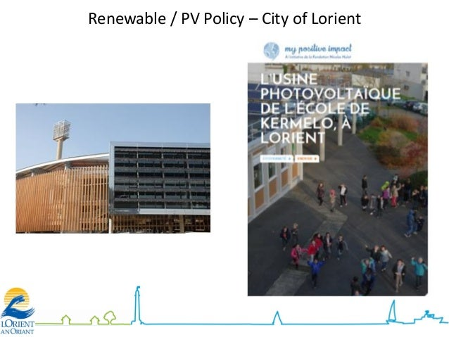 Renewable / PV Policy – City of Lorient