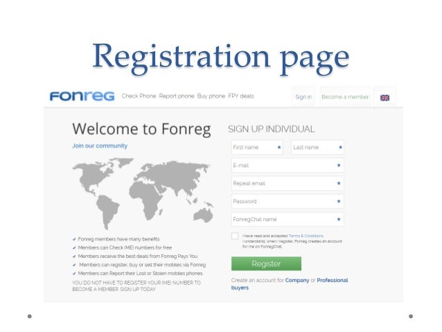 Fonreg presentation - official