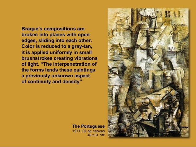 On Georges Braque Artist of Cubism