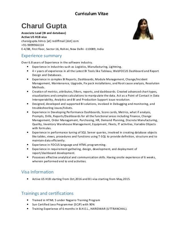 Resume - Charul Gupta - External