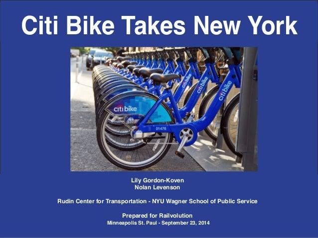 Rudin Center for Transportation, NYU Wagner  2 / 17  Lily Gordon-Koven  Nolan Levenson  Rudin Center for Transportation - ...