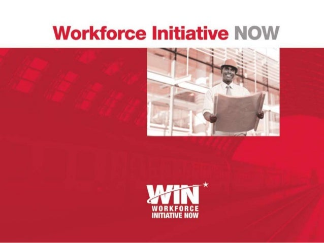 WIN Mission  Meet the workforce needs of employers  Connect local residents to career opportunities in the transportatio...