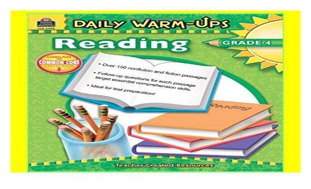 Daily Warm-Ups: Reading, Grade 4 2018 ebook$@@